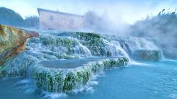 托斯卡纳腹地的天然温泉