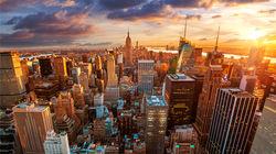 纽约曼哈顿岛醉人风景