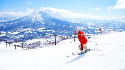 洞爷湖滑雪