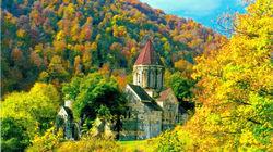 森林中的 Haghartsin修道院