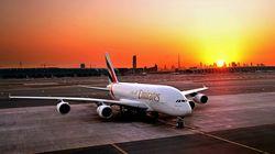 奢华阿联酋航空A380