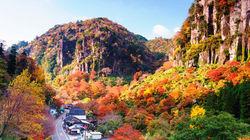 """日本新三景之一""""耶马溪"""""""