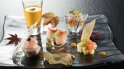 精致的日本餐食