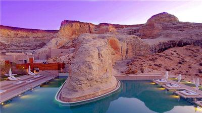Amangiri酒店泳池