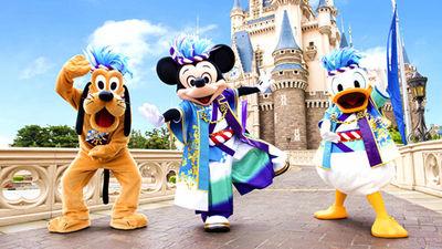迪士尼乐园欢迎您