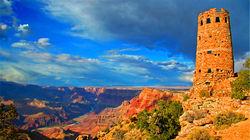 大峡谷国家公园 瞭望塔