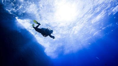 触摸浩渺-塞班蓝洞潜水