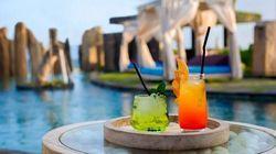 巴厘岛巨石阵下午茶
