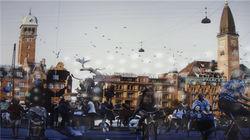 午后的童话小镇