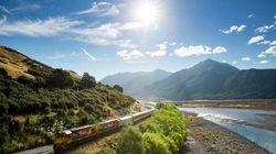 高山观景火车