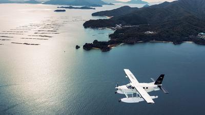 水陆两用飞机搭乘体验