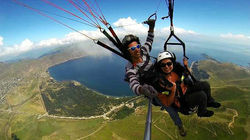 塞凡湖滑翔体验