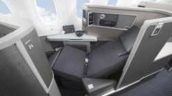 美国航空舒适的座位