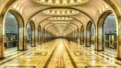 莫斯科地铁站
