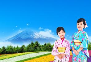 亲子夏日 就在日本