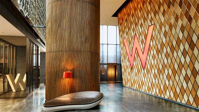 香港W酒店入口