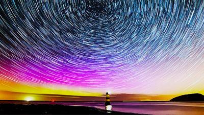 在特内里费岛欣赏满天繁星