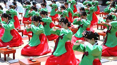 韩国传统成人礼