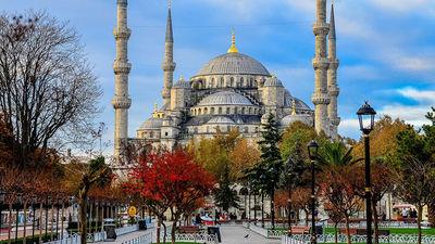 伊斯坦布尔蓝色清真寺