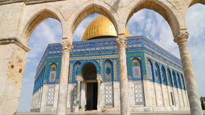 神圣的金顶清真寺