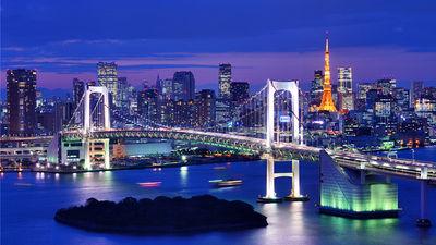 东京湾夜景
