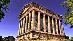希腊风格的加尔尼异教神庙