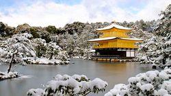 冬日金阁寺