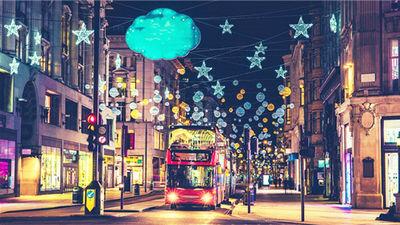 伦敦灯光秀