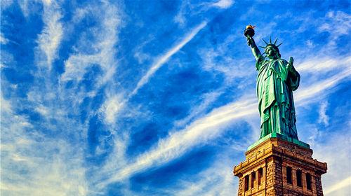 美国文化缩影---自由女神