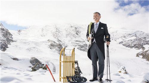 瑞士冬季富豪度假区