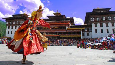 不丹节庆舞蹈