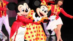 迪士尼乐园表演