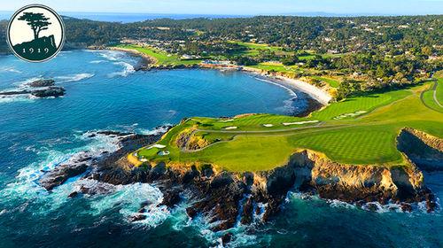 全球第一奢华高尔夫-圆石滩