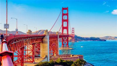 近代桥梁工程奇迹-旧金山金门大桥