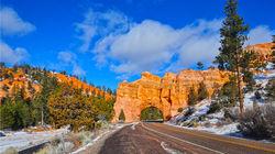 布莱恩斯峡谷国家公园 入口公路