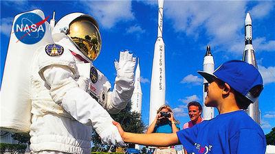 与宇航员一起探索NASA宇航中心