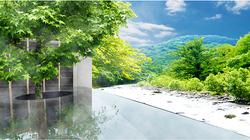 奥入濑溪流绝景露天温泉