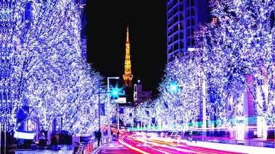 东京塔-点灯