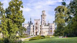 捷克最美的白色城堡