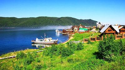 静谧贝加尔湖