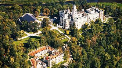 典型的捷克城堡庄园
