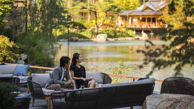 京都四季酒店庭院