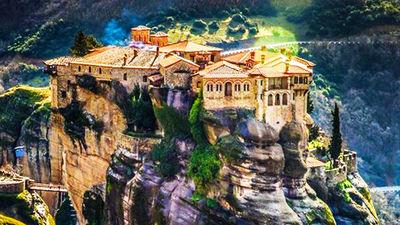 悬崖之巅天空之城迈泰奥拉