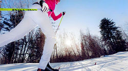 银星滑雪场,冰上行走体验