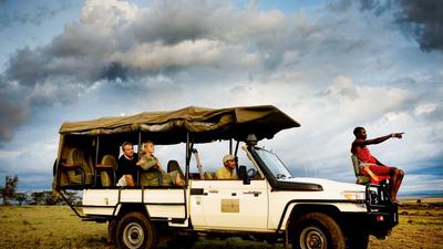 马赛马拉国家公园游猎