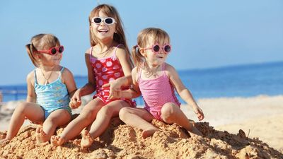苏梅四季 儿童沙滩游戏
