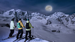 冬日滑雪度假胜地