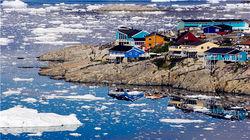 格陵兰小镇