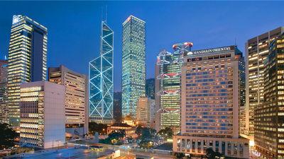 香港文华东方酒店外景