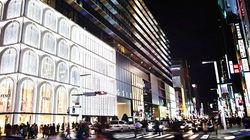 东京新地标-银座SIX夜景